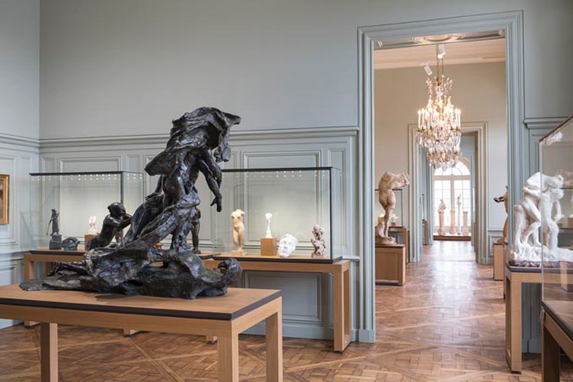 Camille Claudel Room at the Rodin Museum in Paris with her masterpiece The Age of Maturity