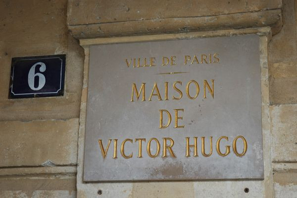 #6, the entrance to the Victor Hugo Museum