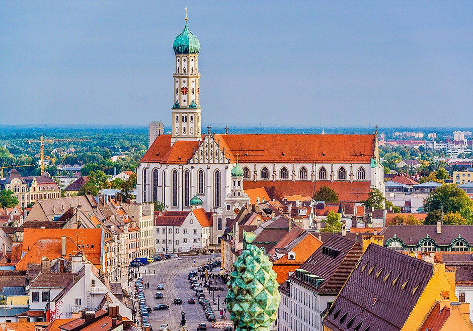Augsburg, Germany's oldest town