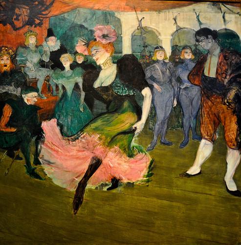 """Toulouse-Lautrec, Mademoiselle Marcelle Lender dansant dans """"Chilperic"""""""