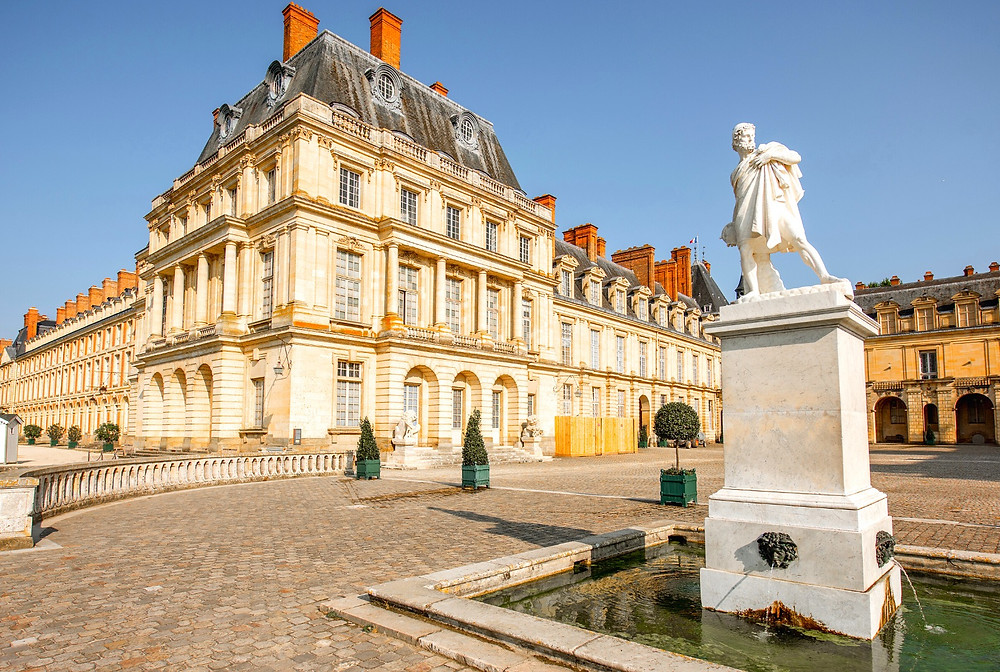 Chteeau Fontainebleau, a must see Marie Antoinette site