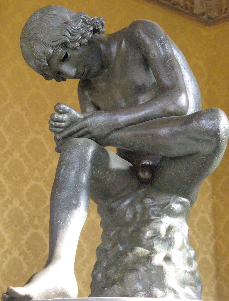 Spinario, Boy Extracting a Thorn, 1st century BC