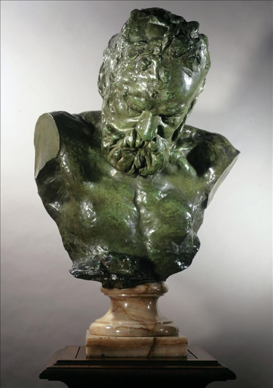 Rodin, Heroic Bust of Victor Hugo, 1908