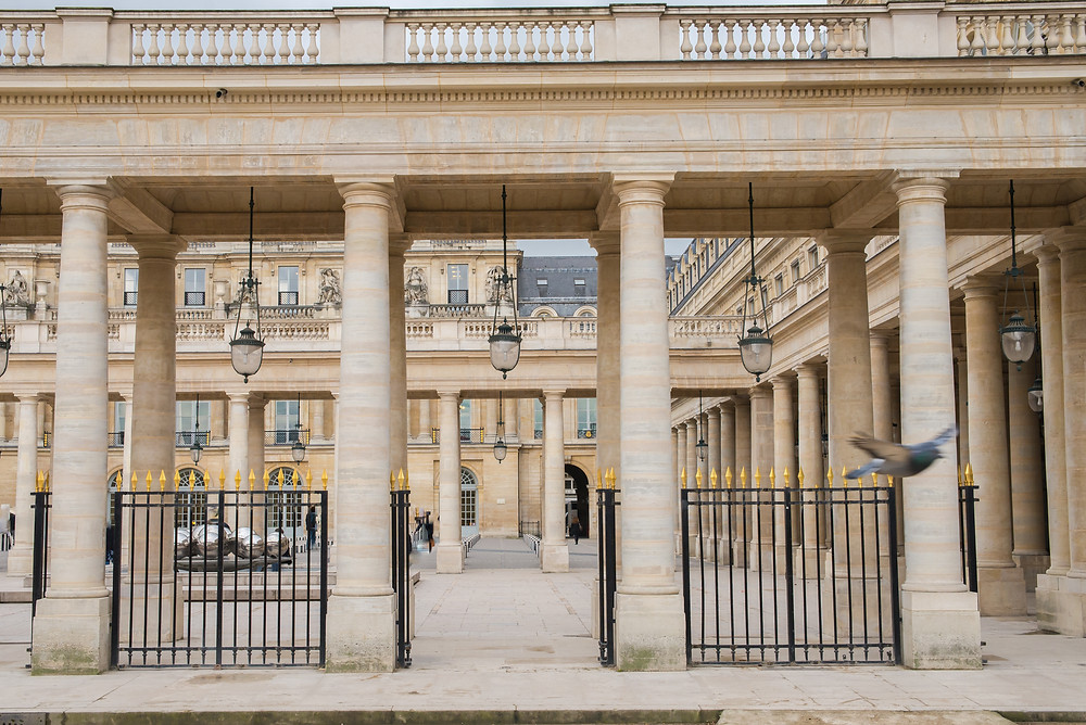 the magnificent Palais Royal