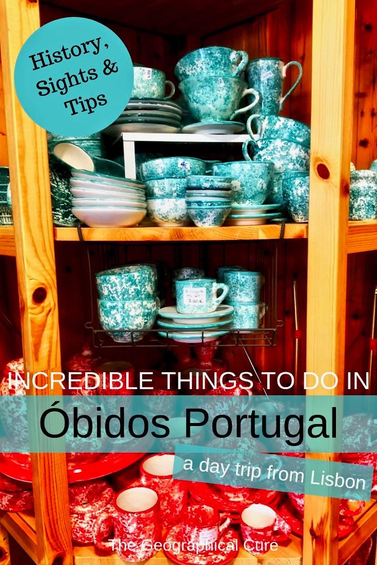 Obidos Portugal, the Queen's Present
