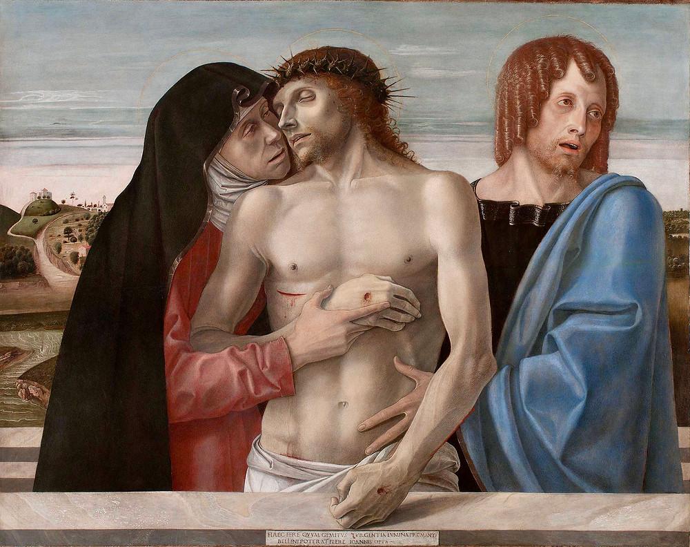 Giovanni Bellini, Pieta, 1465-70