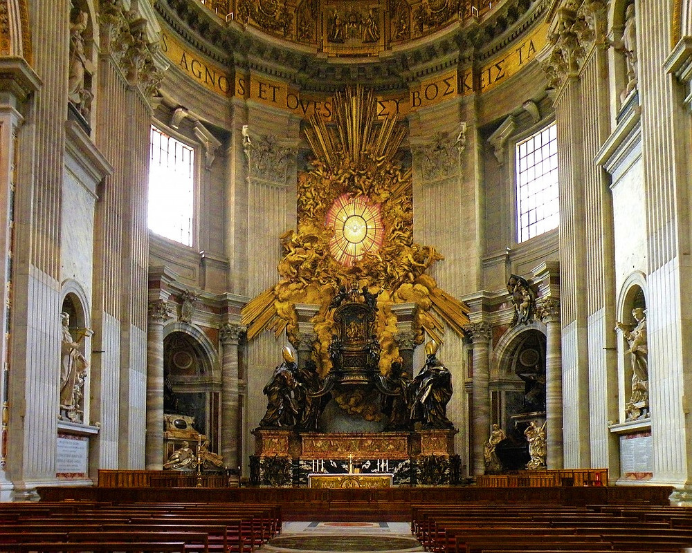 Bernini, The Chair of St. Peter, 1653