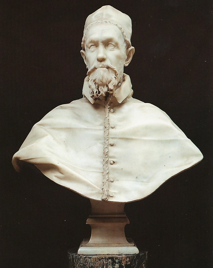 Bernini, Bust of Innocent X, 1650