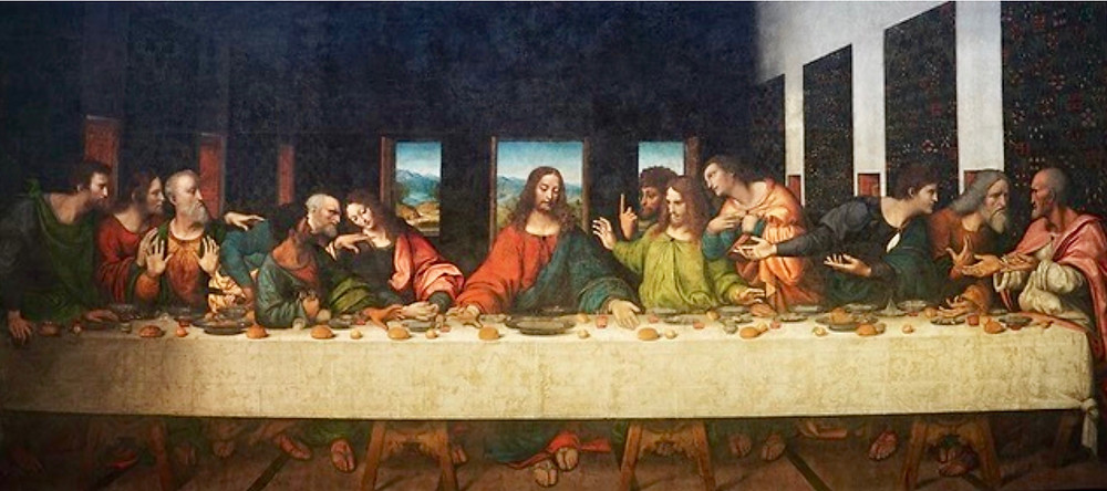 The Tongerlo Last Supper, by Leonardo and his workshop, 1506-07