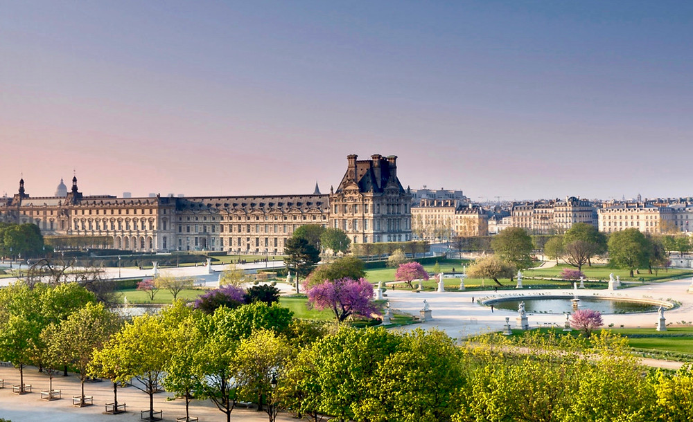 the Louvre Museum, iconic landmark in Paris