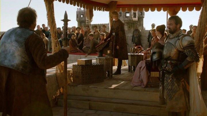 Joffrey's lame NameDay Tournament in Lovrijenac Fortress