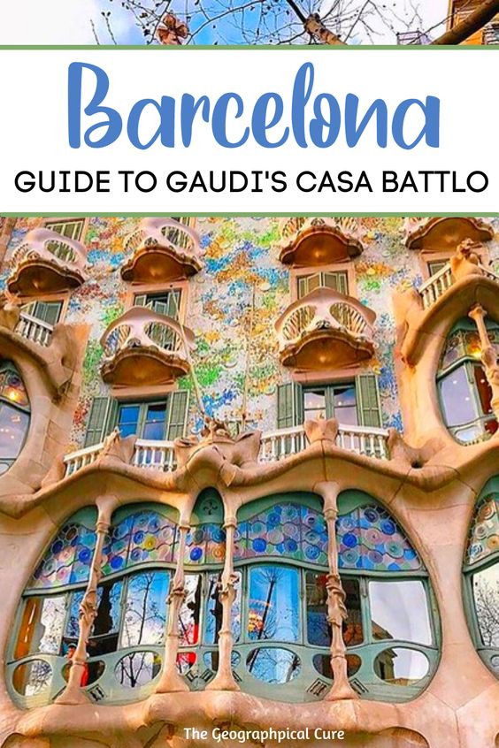 ultimate guide to Casa Battlo, a must see Gaudi site and landmark in Barcelona Spain
