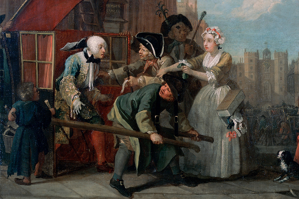 William Hogarth, The Rake's Progress, 1732-34