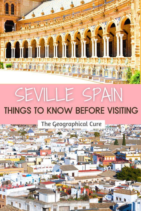 tips for visiting Seville Spain