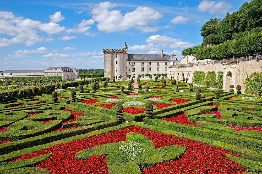 gardens of the Chateau Villandry