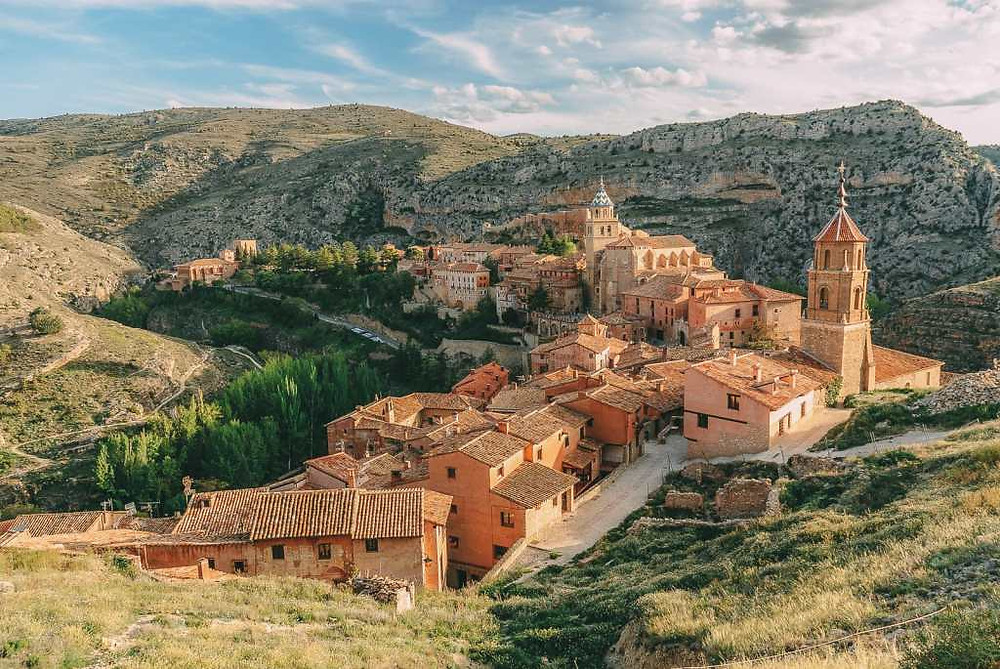 the village of Albarracin in northern Spain