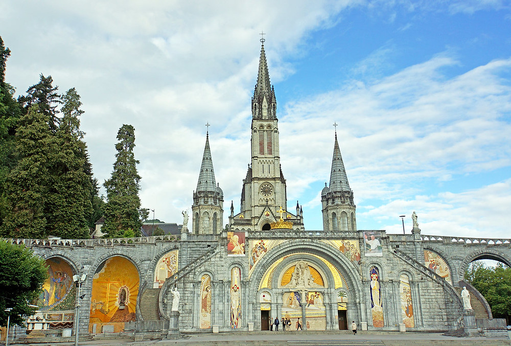 Basilica of Our Lady of the Immaculate Conception, also called the Sanctuary of our lady of Lourdes
