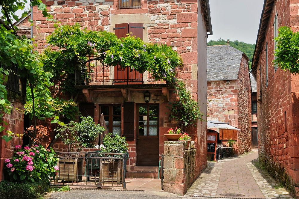 the picturesque village of Collonges la Rouge