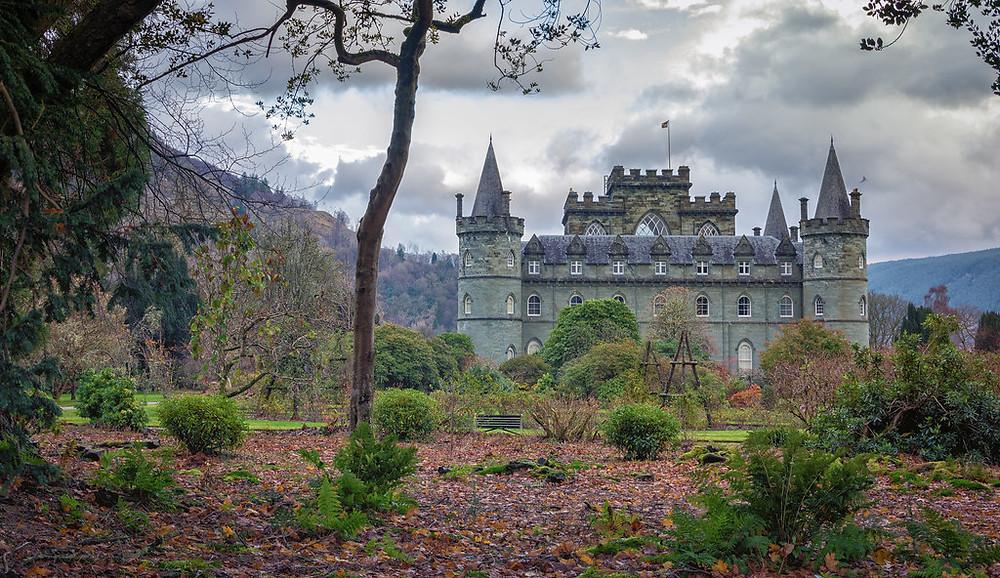 Inverary Castle in Scotland