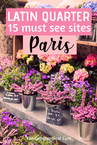 must see sites in the Latin Quarter