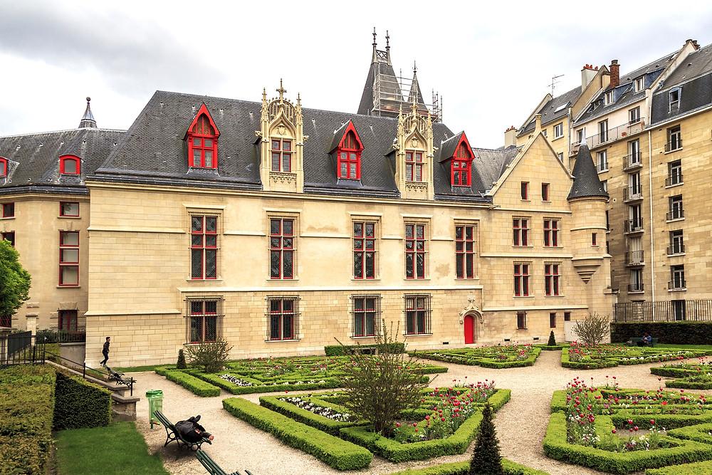 the medieval Hotel de Sens in the Marais neighborhood of Paris