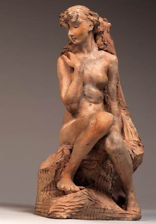 Camille Claudel, Young Girl With a Sheaf, 1886