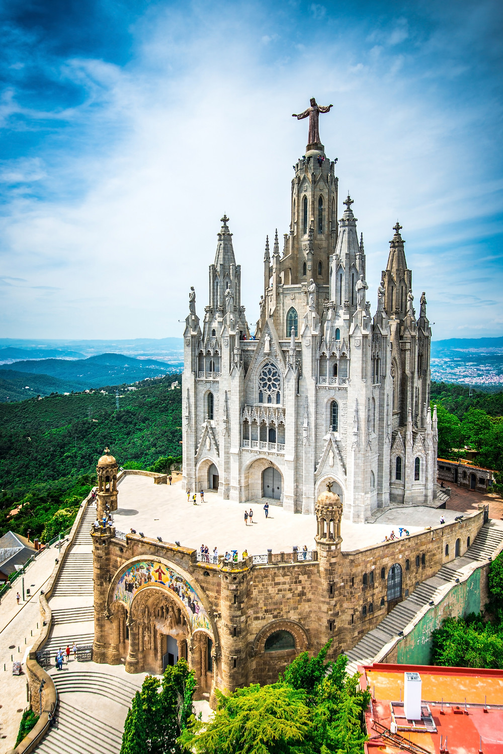 Temple of the Sacred Heart of Jesus on Tibidabo