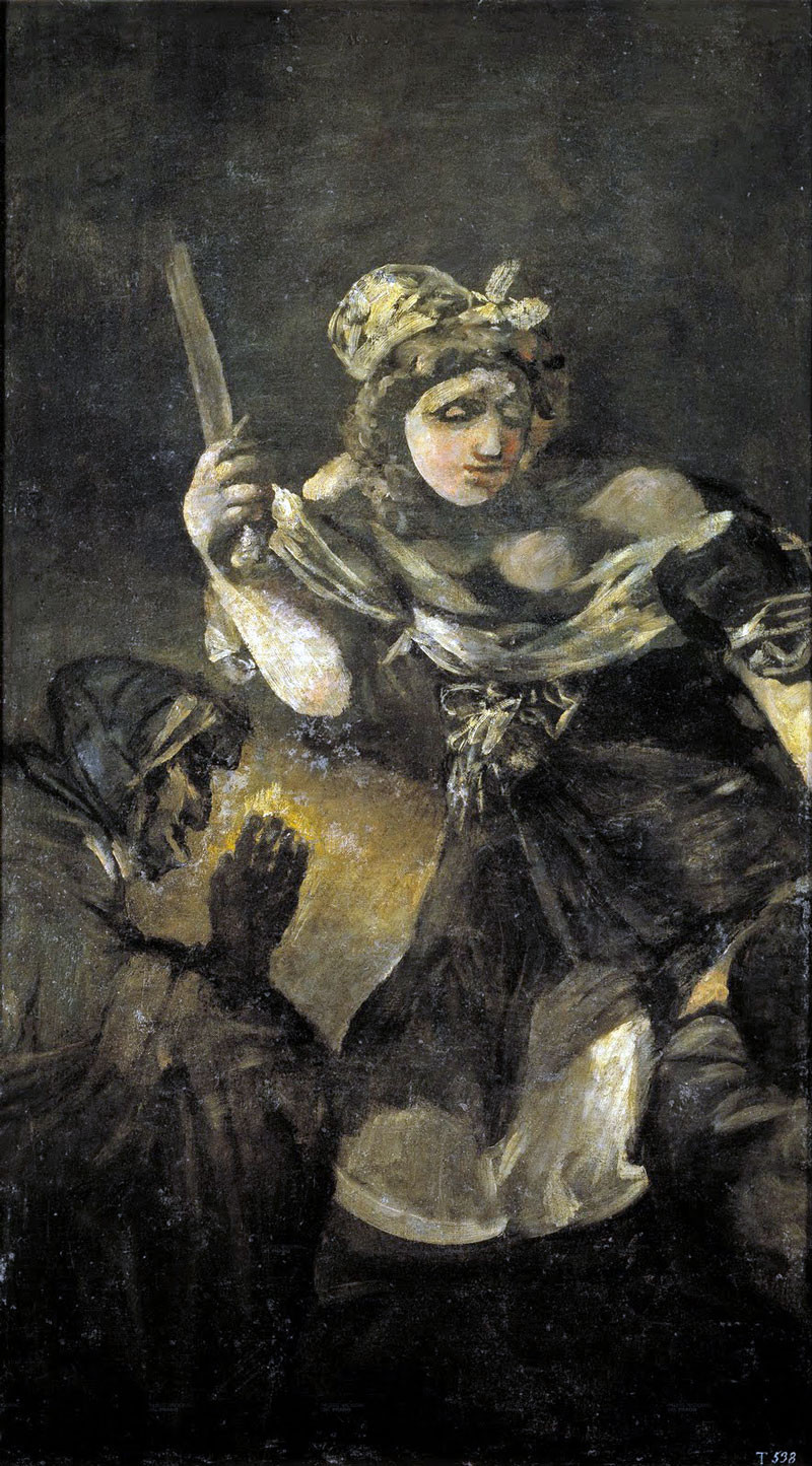 Another Black Painting, Francisco Goya, Judith and Holofernes, 1819-1823