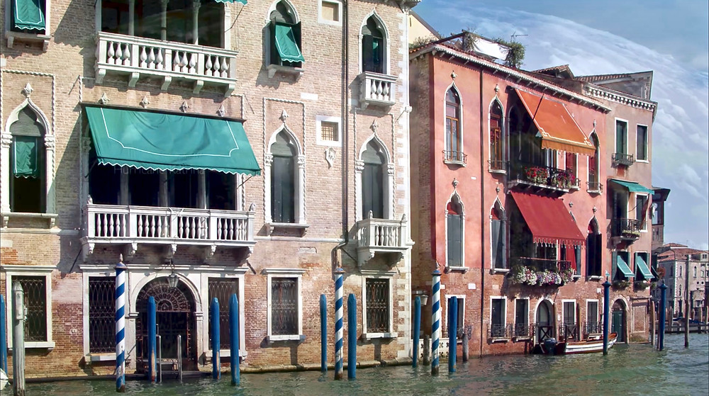 palazzi on Venice's Grand Canal