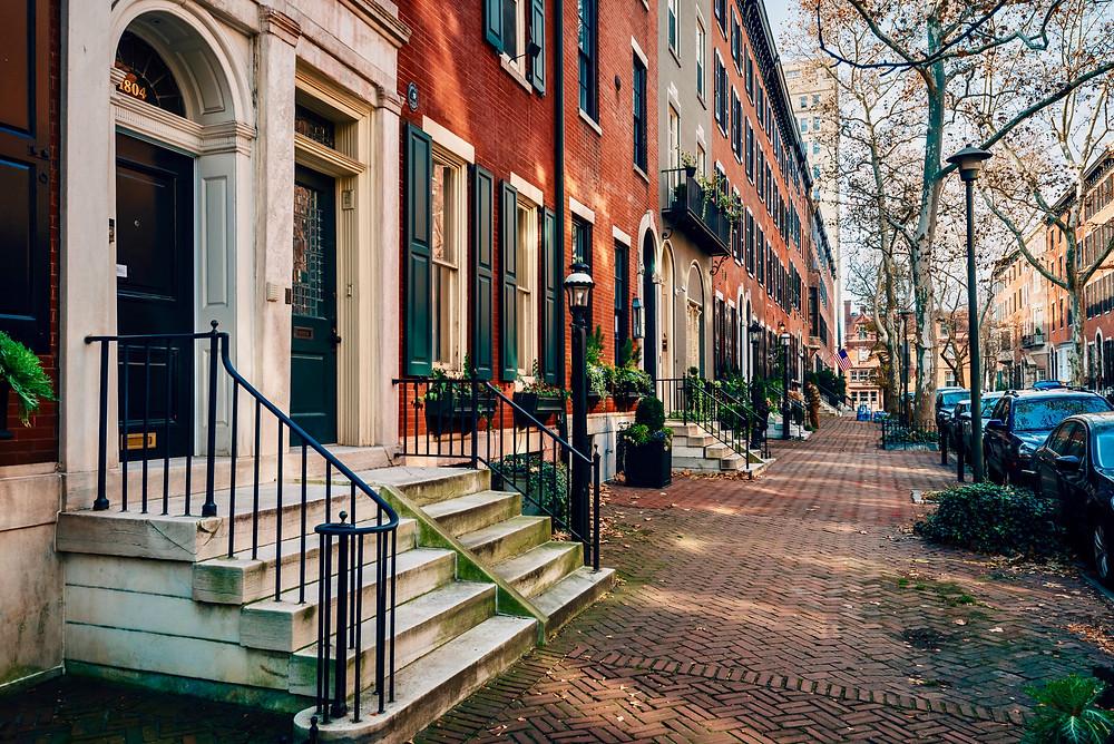 Rittenhouse Row, Philadelphia's toniest address