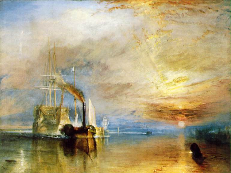 J.M.W. Turner, The Fighting Temeraire, 1839