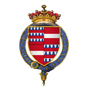 There are no portraits or photos or likenesses of dear Enguerrand. All I can give you is his family crest.