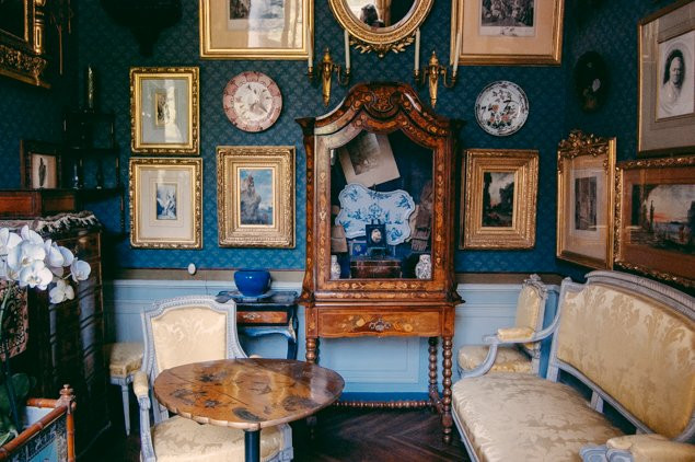 room in the Gustave Moreau Museum in Paris