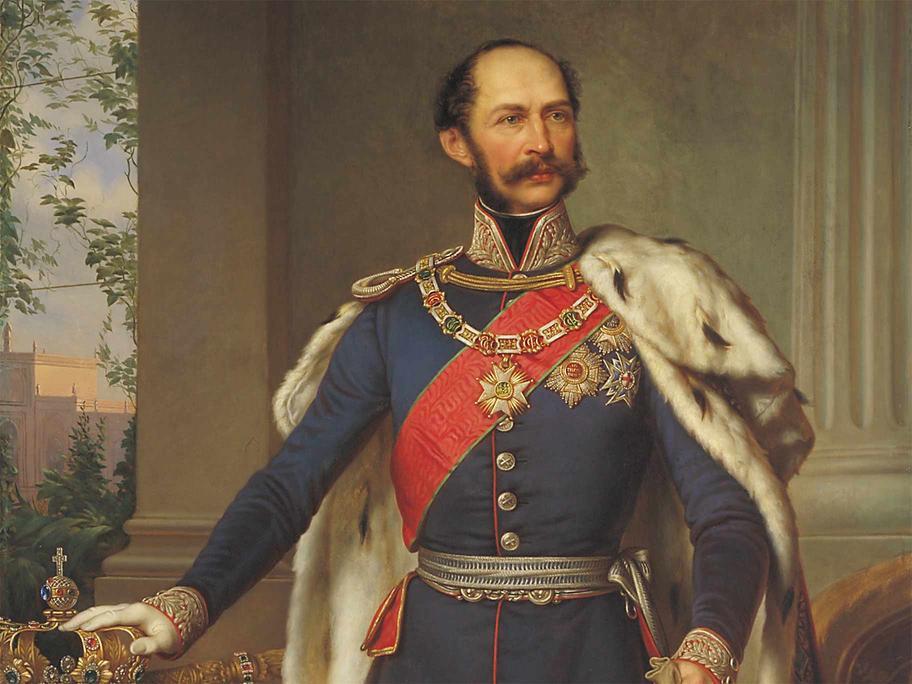 King Maximillian II, father of Mad King Ludwig