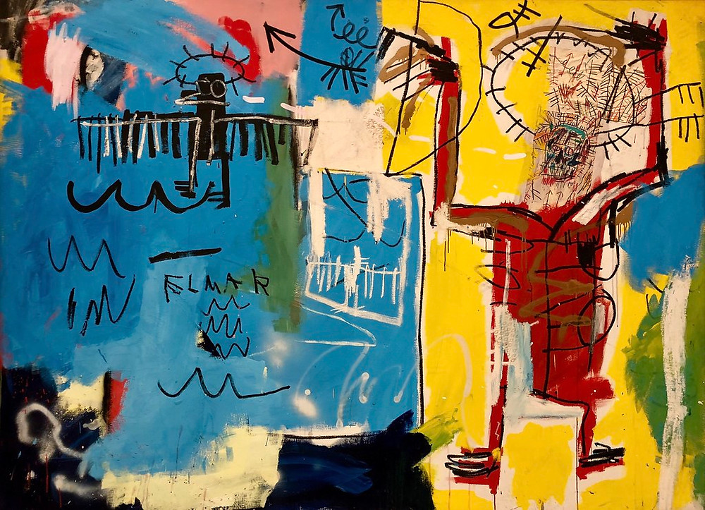 Jean-Michel Basquiat, Elmar, 1982 -- at the Louis Vuitton Foundation in Paris