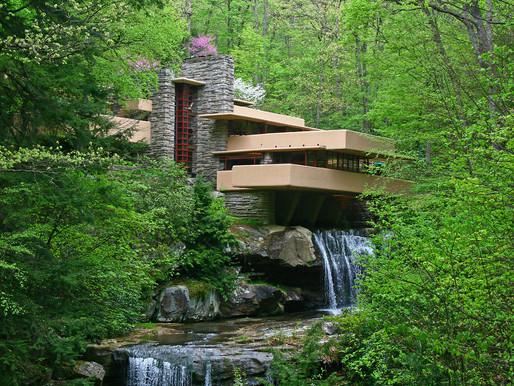 A New 2019 UNESCO Site: Fallingwater, Frank Lloyd Wright's Masterpiece