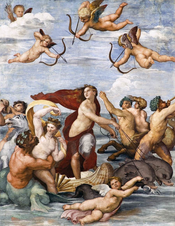 Raphael, Triumph of Galatea, 1513-14