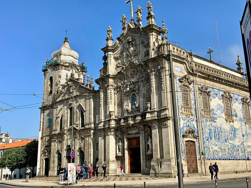 the Instagram famous church, Igreja do Carmo and Carmelitas