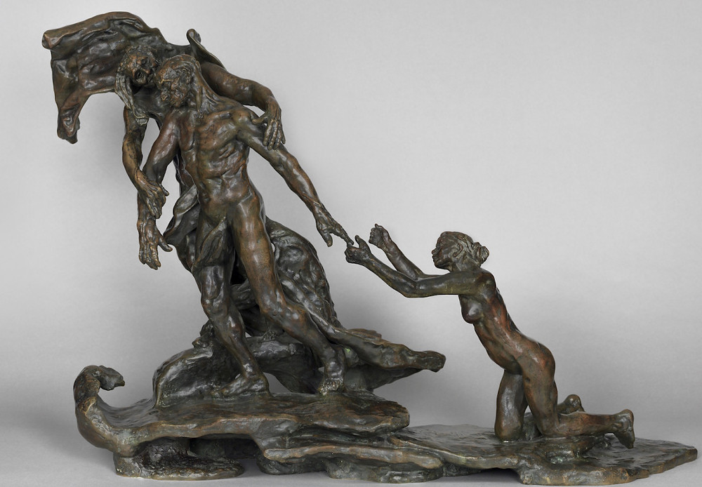 Camille Claudel, The Mature Age, 1899 -- Claudel is in full control of her artistic expression