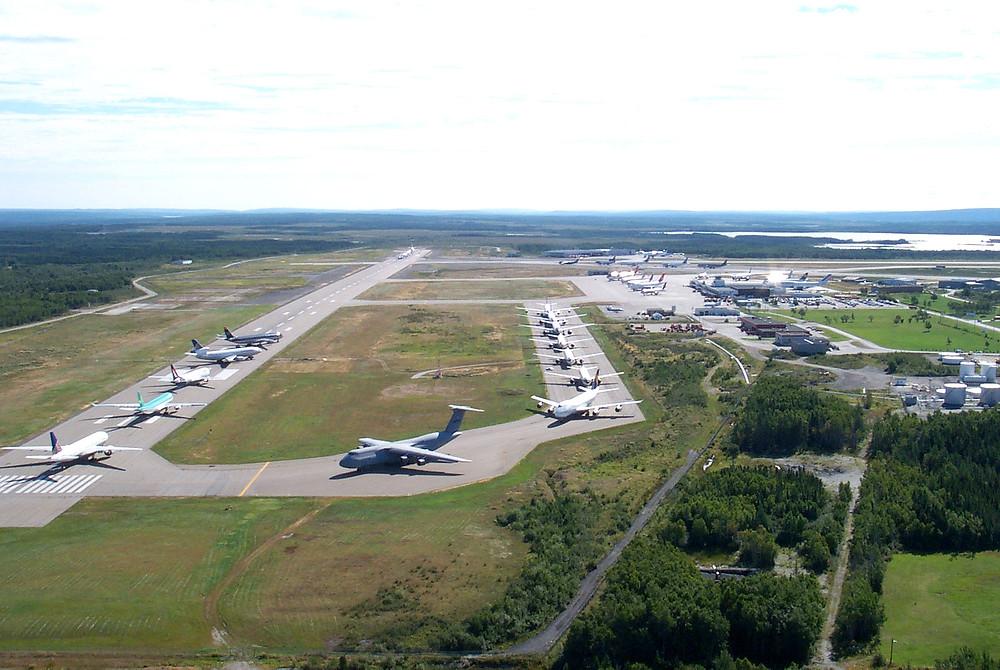 airport in Gander Newfoundland