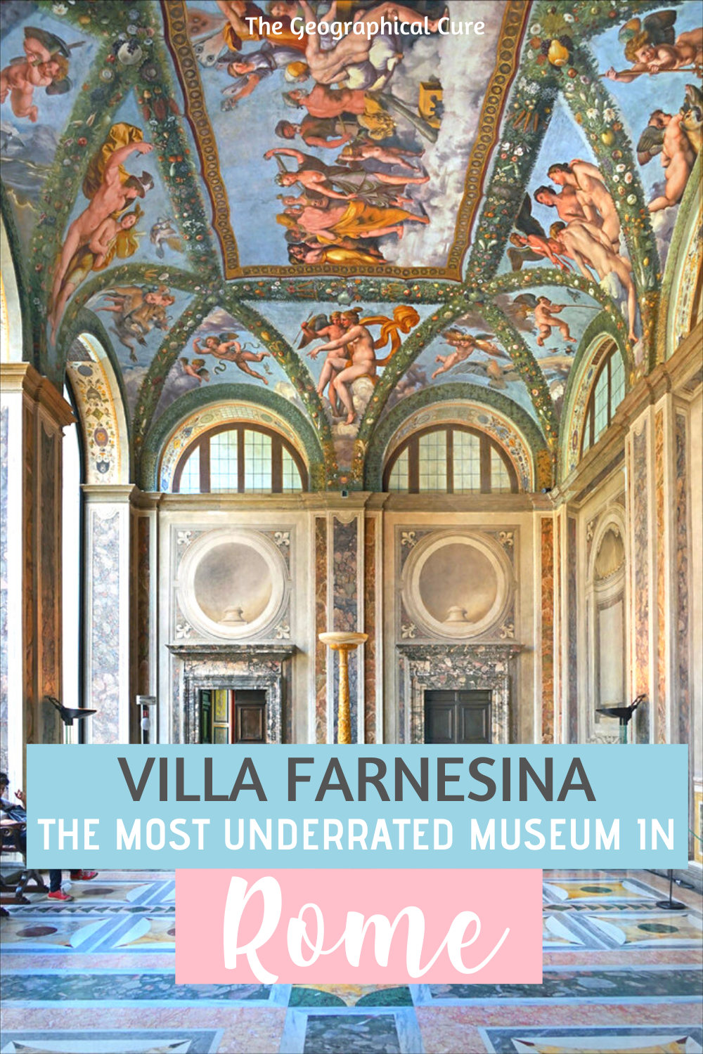 guide to Villa Farnesina, Rome's most underrated museum and home to secret Raphael frescos