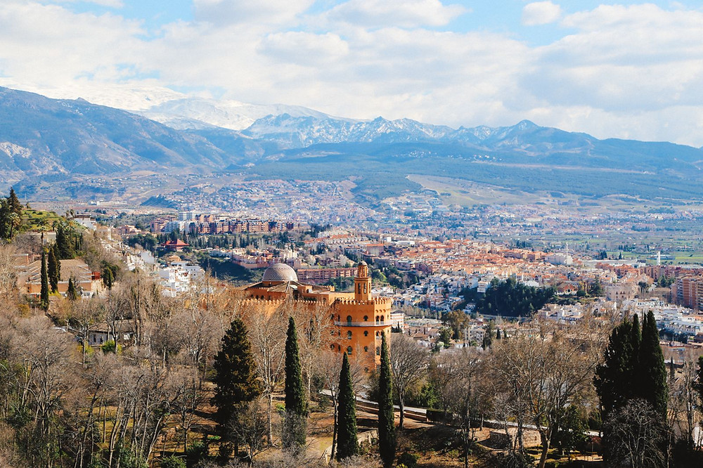view from the Watch Tower in the Alhambra