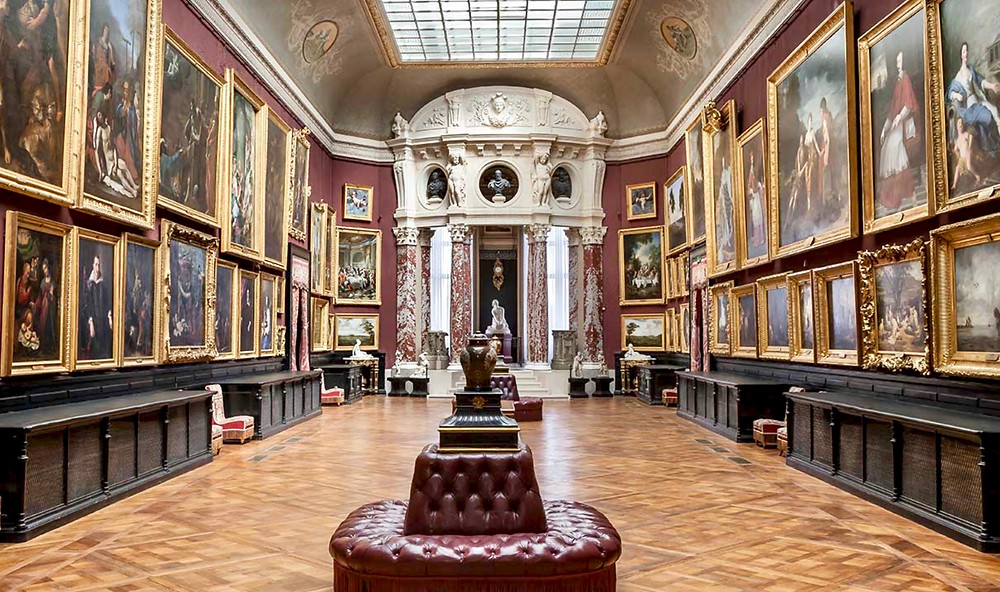 Gallery of Paintings in the Musee Conde