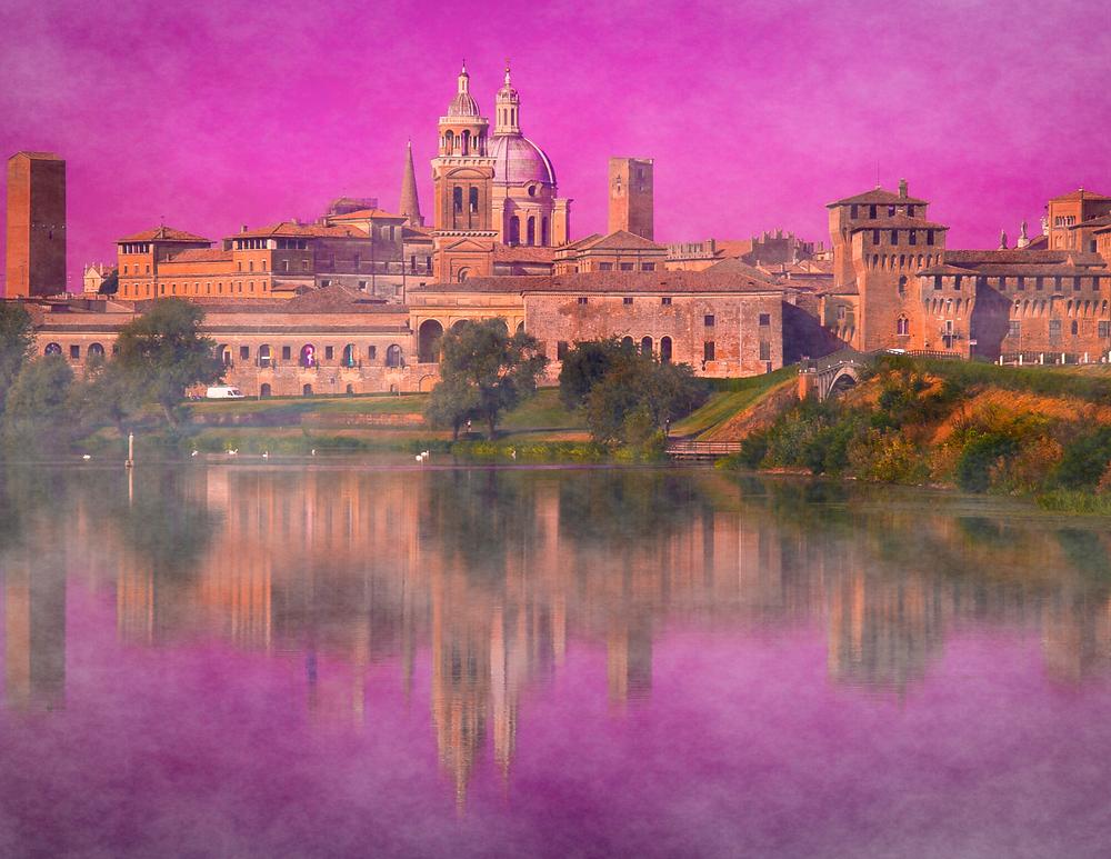 cityscape of Mantua