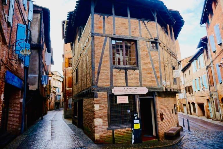 the Castlenau district of Albi France