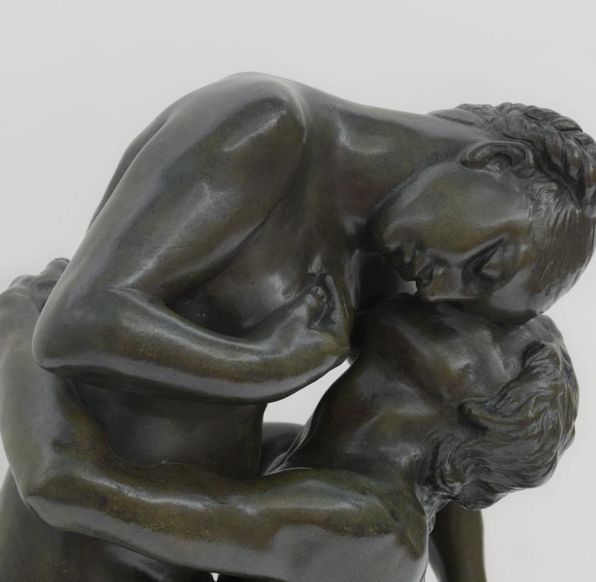 Claudel's bronze L'Abandone, 1886, Camille Claudel Museum