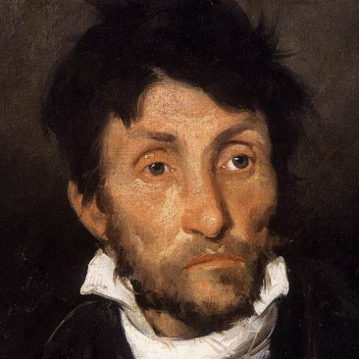 Théodore Géricault, Portrait of a Kleptomaniac, 1822