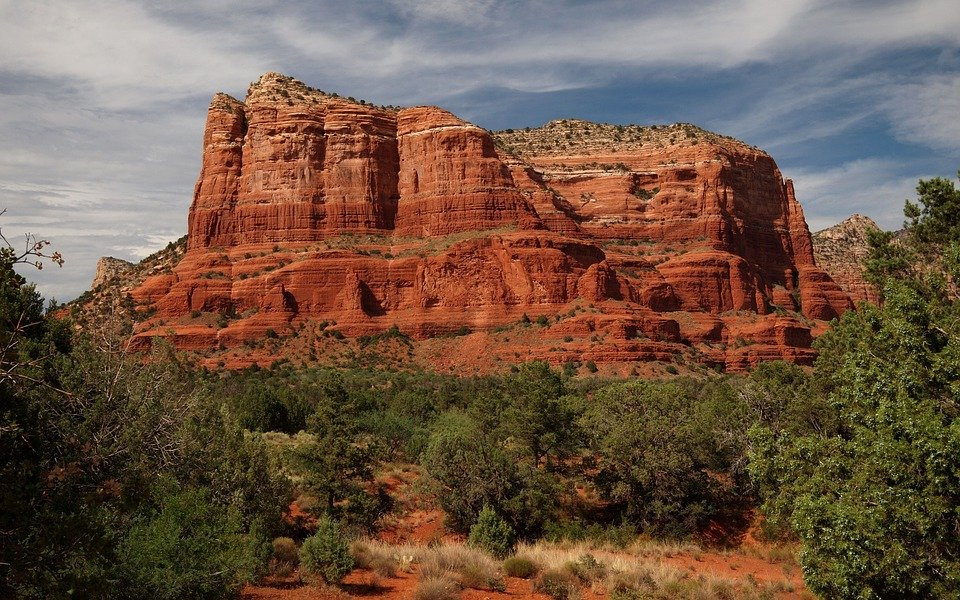 red landscapes in Sedona