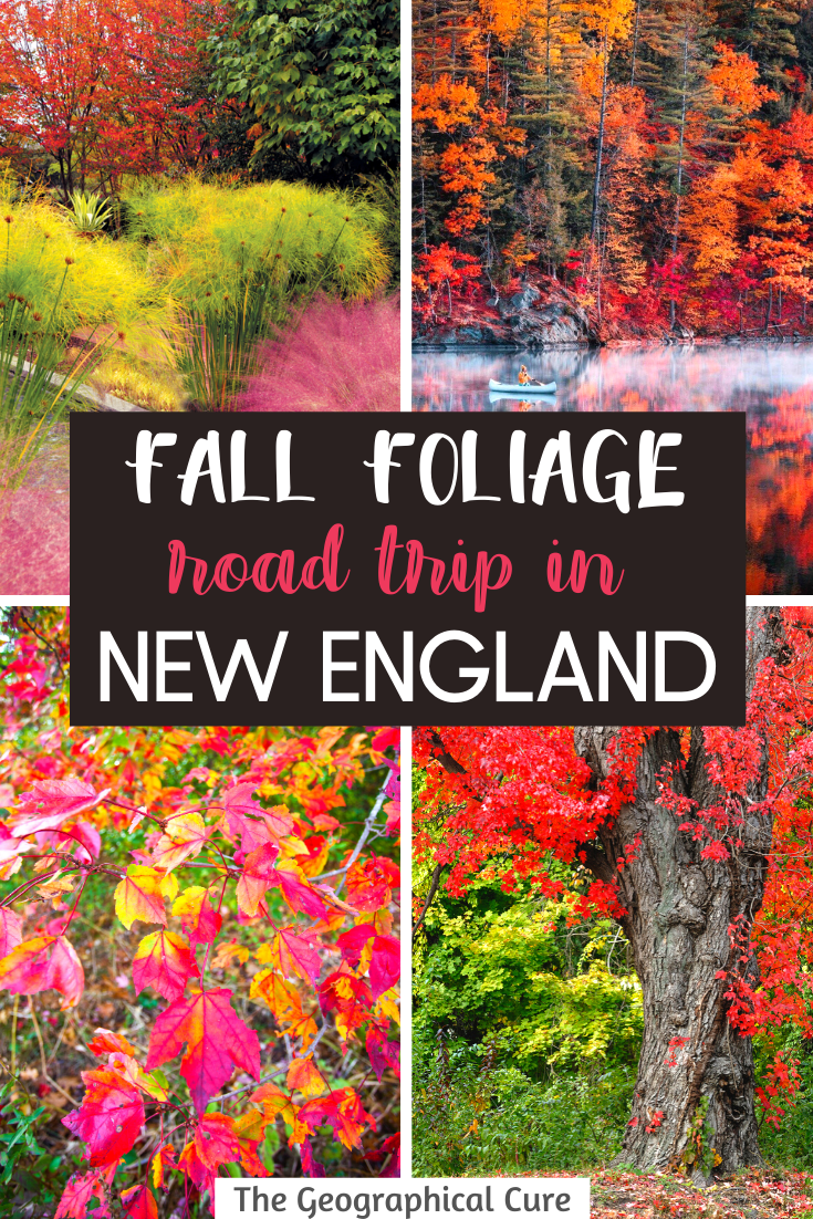 Fall Foliage Road Trip Guide For New England