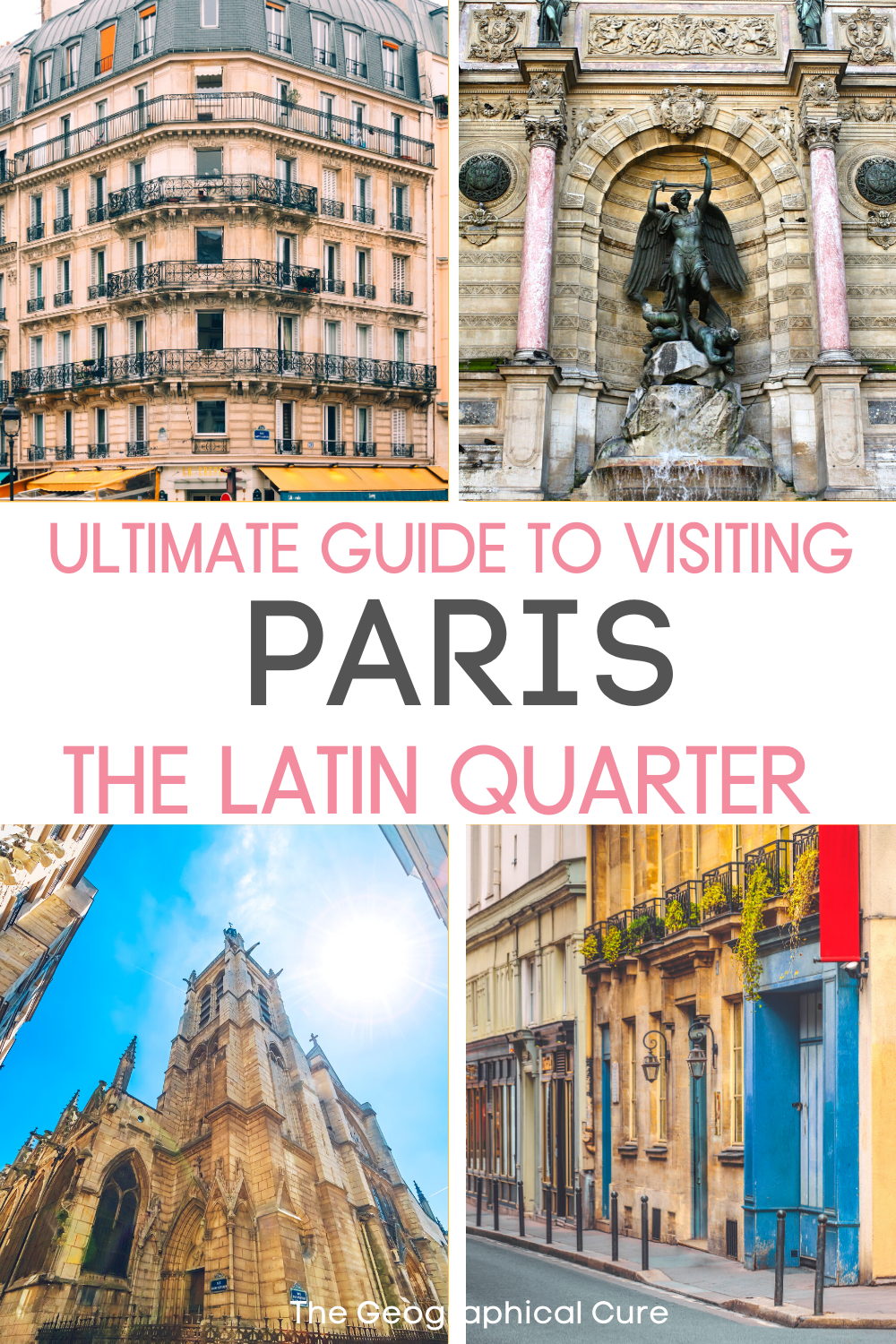 guide to the must see sites in Paris' Latin Quarter on the Left Bank